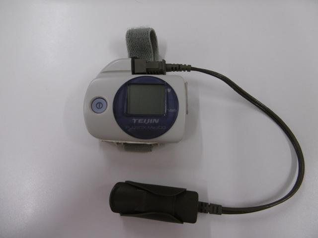 睡眠時無呼吸症候群の簡易検査 イメージ