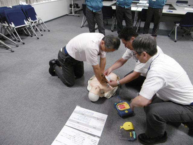 衛生教育◆普通救急講習・応急処置訓練 イメージ